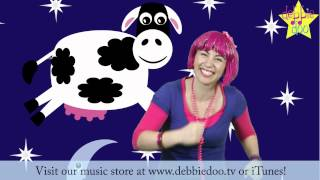 Hey Diddle Diddle The Cat and The Fiddle | Nursery Rhymes For Toddlers | Debbie Doo