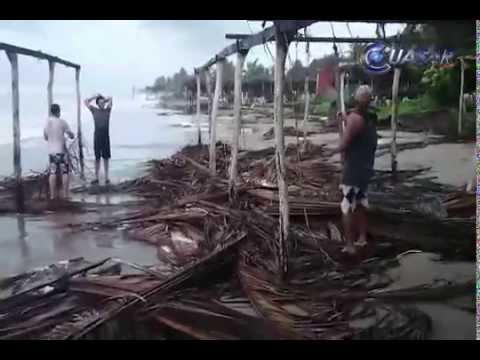 En alerta PC por tormentas tropicales en el Pacífico