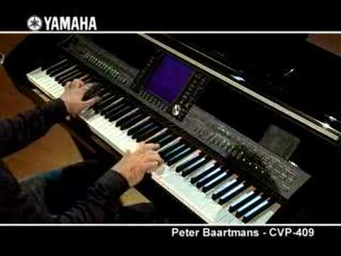 Peter Baartmans and the Yamaha CVP-409