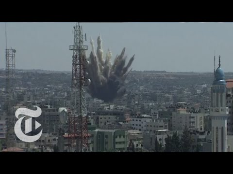 Israel-Gaza Conflict 2014: Strikes Resume in Gaza Strip | The New York Times