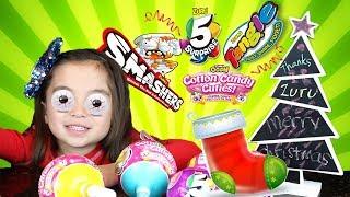 *NEW* ZURU OOSH COTTON CANDY CUTIES, 5SURPRISE, SMASHERS, TANGLE | Stocking full of Zuru toys!