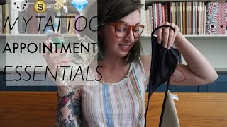 PR: My Tattoo Appointment Essentials!