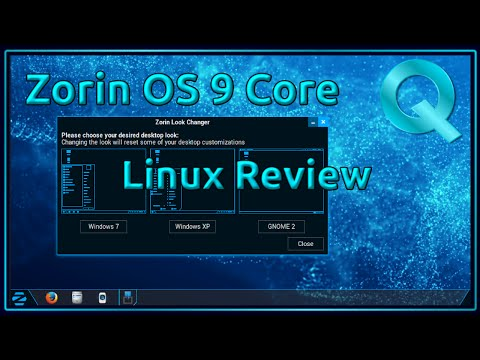 Zorin OS 9 Core Linux Review