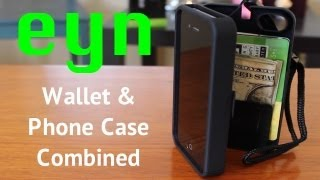eyn : Phone Case & Wallet Combined (iPhone 4/4S)