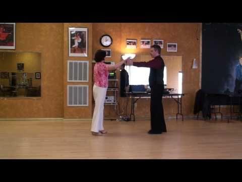 American Tango Lesson 1. Basic