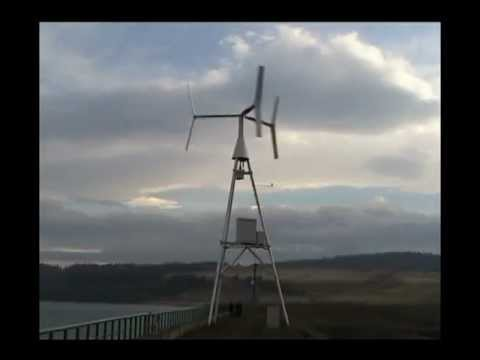 Vertical Axis Wind Turbine   ANew-S1