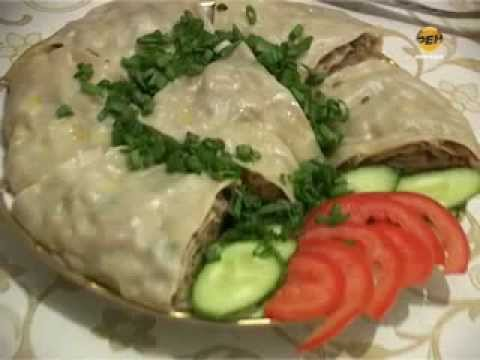 Ретро кухня - Слоенный рулет «Ханума»