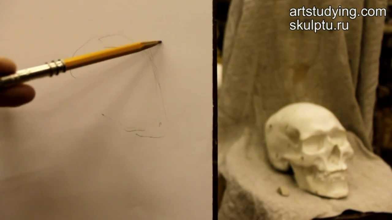 обучение рисунку:
