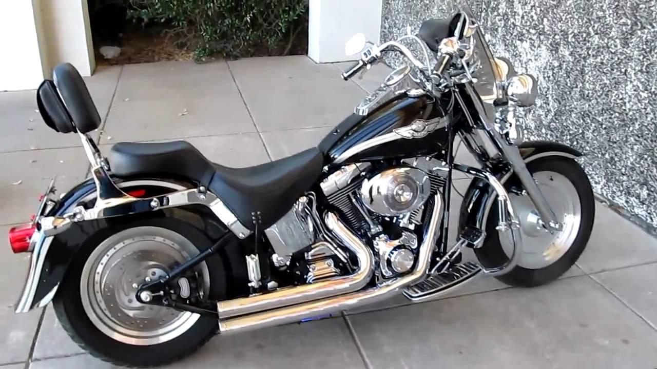 Harley Davidson Flstf Fat Boy Anniversary