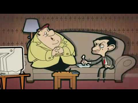 Mr. Bean Animated Series The Visitor Part1
