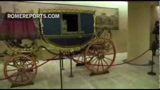 Romereports Vaticano Videos del Papa Francisco Homilias - Los Museos Vaticanos repasan la prehistoria  del papamóvil