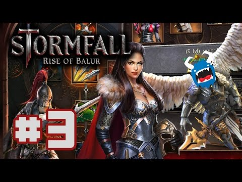 Stormfall: Rise of Balur - #3 - Collaborative Raiding (Let's Play)
