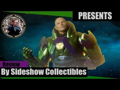 Lex Luthor Premium Format Exclusive Review The Odd Couple Statue Reviews