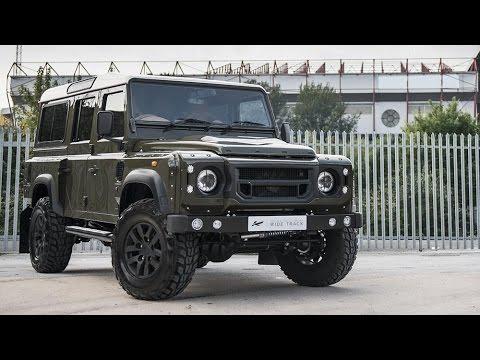 2015 Land Rover Defender Khan & CTC Design - YouTube