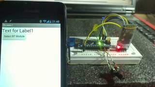 App Inventor 2 Tutorial - Android receive data from arduino via HC-06 Bluetooth