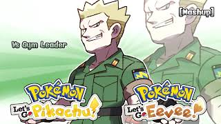Pokémon Let's Go, Pikachu! & Let's Go, Eevee! - Gym Leader Battle Theme Remix