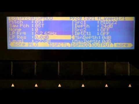 6 Kurzweil PC3 Series: Program Mode Editor (Part 4)