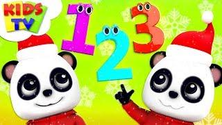 Learn Numbers With Santa | Baby Bao Panda | + More Christmas Songs & Rhymes - Kids TV