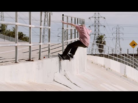 Kris Vile - NBD Shuv Front Krook Firestone Ditch - Dwindle LA skatecation Outtakes