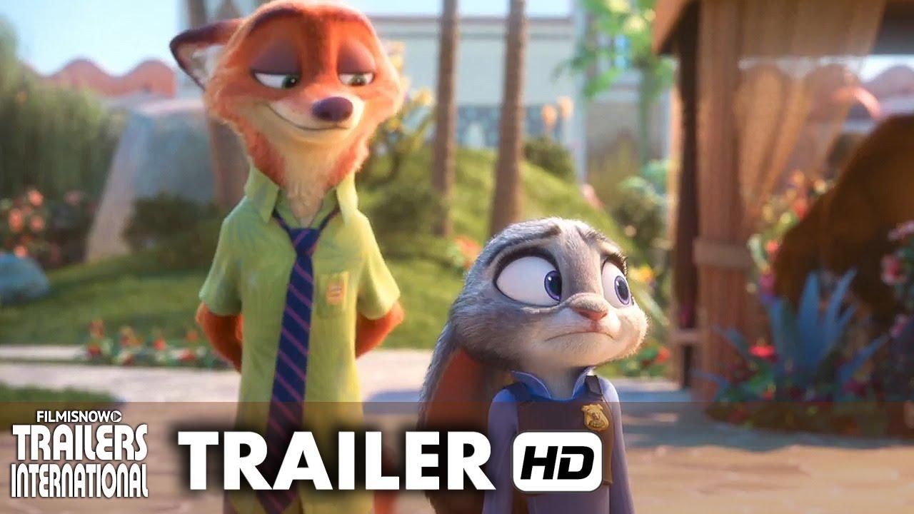 Zootopia Trailer Oficial 2 Dublado HD