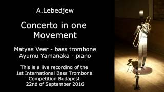 A  Lebedjew Concerto in one movement