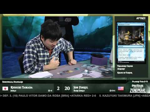 Pro Tour Battle for Zendikar Semifinals (Standard): Ryoichi Tamada vs. Jon Finkel