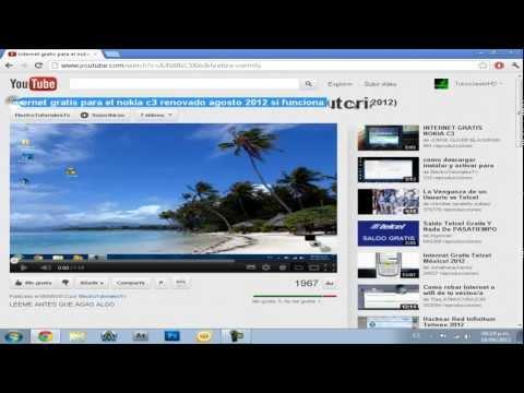 Como tener internet gratis en nokia c3 telcel mexico septiembre 2012 (si funciona)