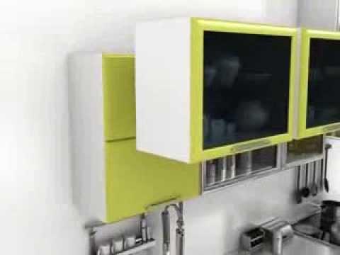 Электроприводы открывания кухонной мебели