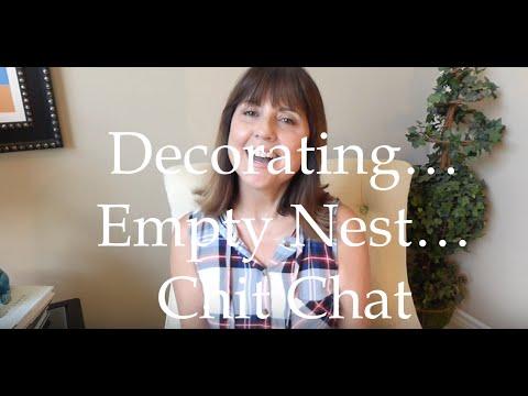 Empty Nest, Decorating, Travel Updates
