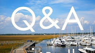 All your sailing, cruising & boat maintenance questions answered! Q&A Pt TWO (Sailing Ruby Rose)