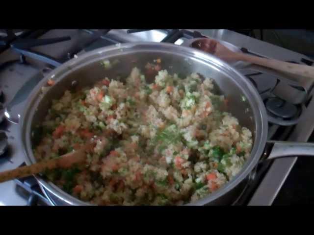 Mi Almuerzo,,, Quinoa con verduras
