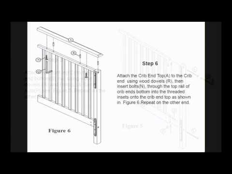 Graco Lauren Crib Assembly Instructions Youtube