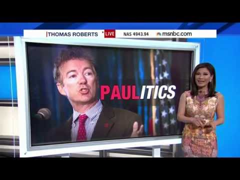 MSNBC discusses Rand Paul presidential announcement 4/7/15