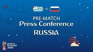 FIFA World Cup™ 2018: Uruguay - Russia: Russia - Pre-Match Press Conference