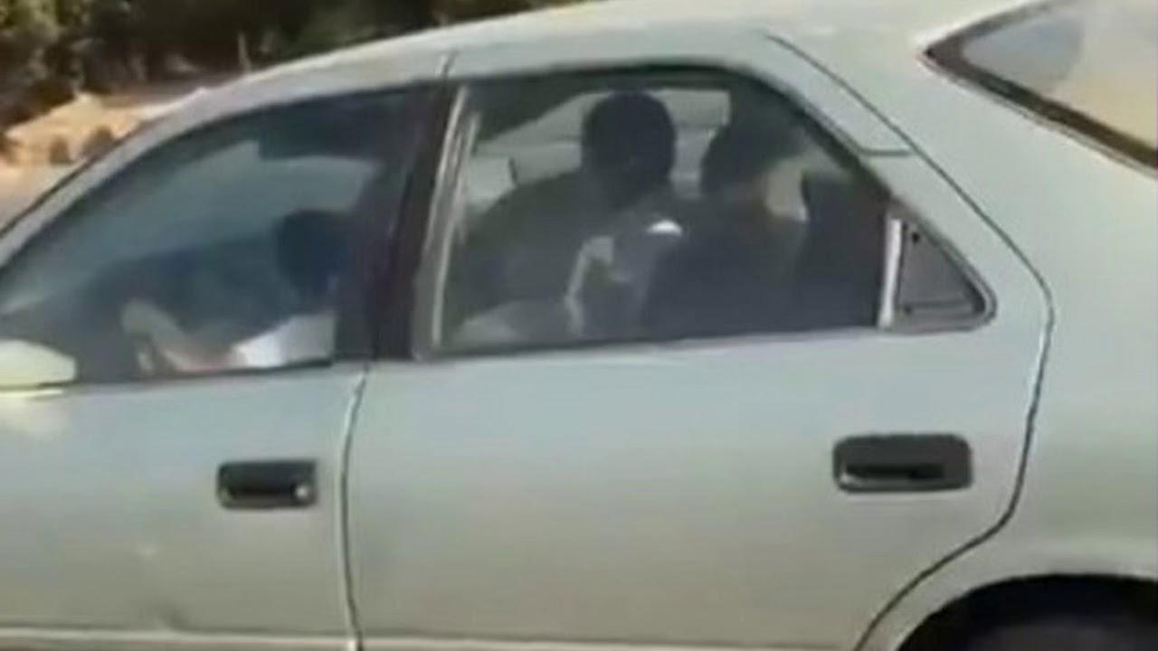 News Update Saudi boy of eight filmed driving car on motorway 08/11/17