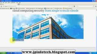 Cloud Computing Security From Single to Multi-Clouds 2012 IEEE JAVA
