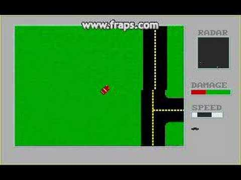 Stupid DOS Games - Road Rage