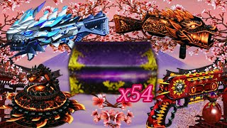 Opening 54 Transcendence Chest | Counter-Strike Nexon: Zombies