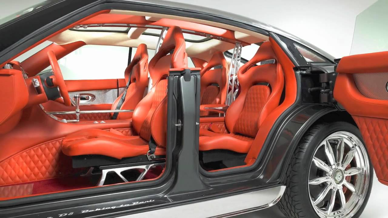 Future 40 luxury car interior design youtube - Car interior design ...