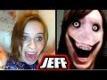 Jeff The Killer : Top 10 Omegle Scare Pranks!