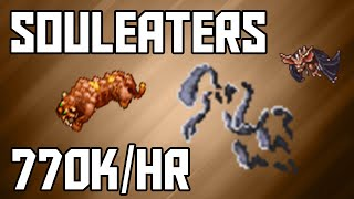 [Tibia Where to Hunt – MS/ED 80+] Souleaters (770k/hr @ 100)