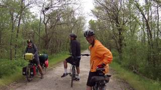 Riding the Katy Trail from Clinton to Machens, MO