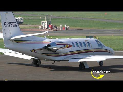 Cessna Citation 550 Bravo G-YPRS - Beautiful Morning Departure - Gloucestershire Airport