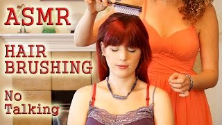 ♥ Wow! ASMR Hair Brushing Bliss!, Head Massage w/ Hair Play, No Talking, 3d Binaural Relaxation ♥