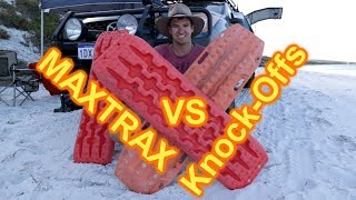 Maxtrax vs Knock-Off Recovery Tracks (Ebay X Bull)