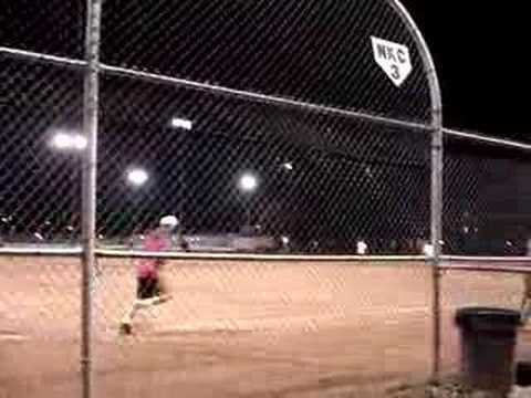Home run in championship game.