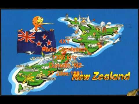 NZ Radio - 4XT - Radio Glenfalloch - 1305 kHz - Dunedin - 27 June 1981
