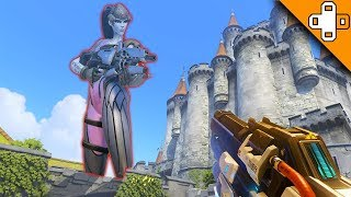 GIANT WIDOWMAKER ATTACKS! Overwatch Funny & Epic Moments 468
