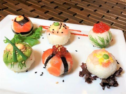 Закуски Для Любителей Суши и Роллов   СУШИ БОЛЛ.  Sushi Ball