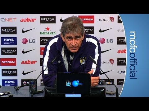 PELLEGRINI PREVIEWS WEST HAM | City v West Ham press conference part 1